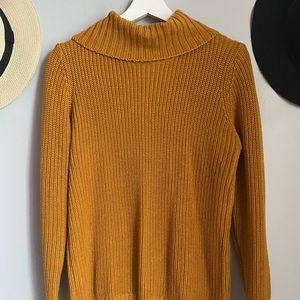 Forever 21 golden turtle neck